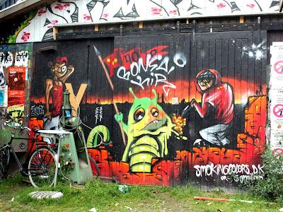 Christiania in Copenhagen Denmark