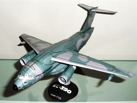 Embraer KC390 Papercraft