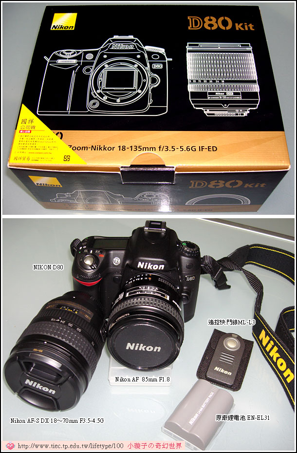 NIKON D80