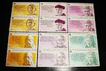 sellos V centenario descb America