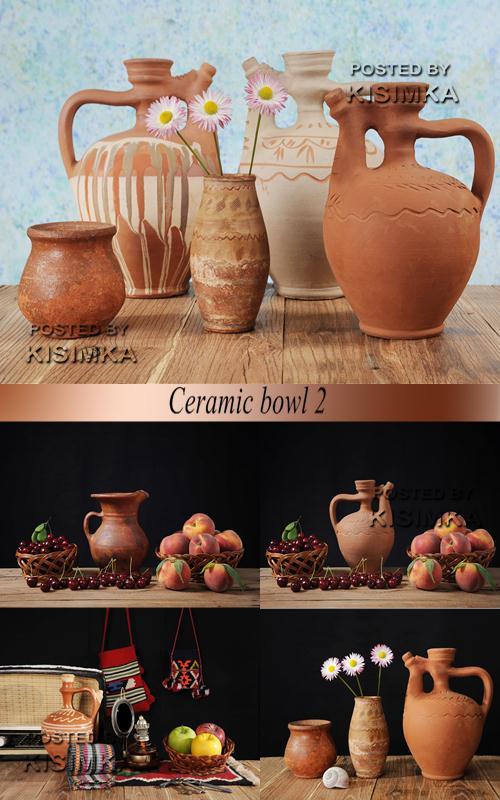 Stock Photo: Ceramic bowl 2
