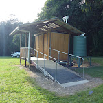 Access to toilet at Melaleuca camping ground