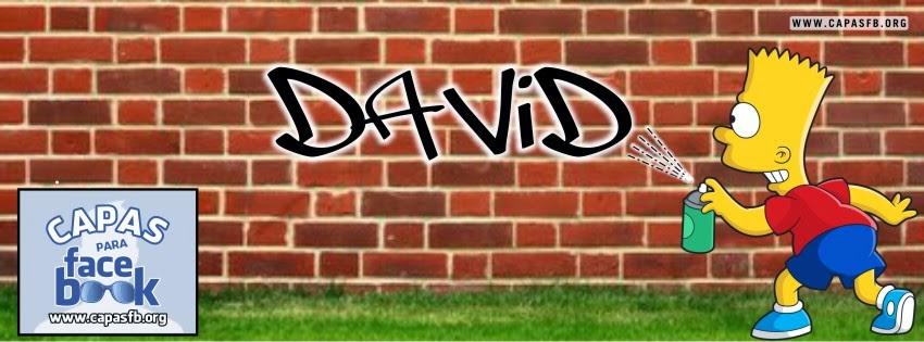 Capas para Facebook David