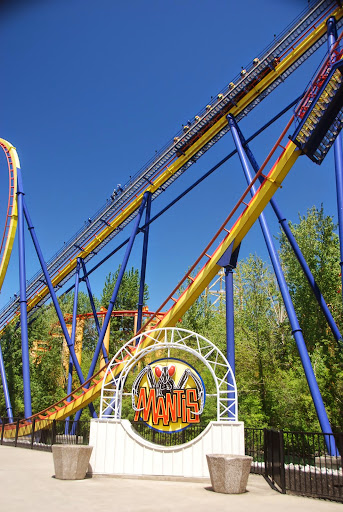 Mantis roller coaster. From The Complete Guide to Visiting Cedar Point