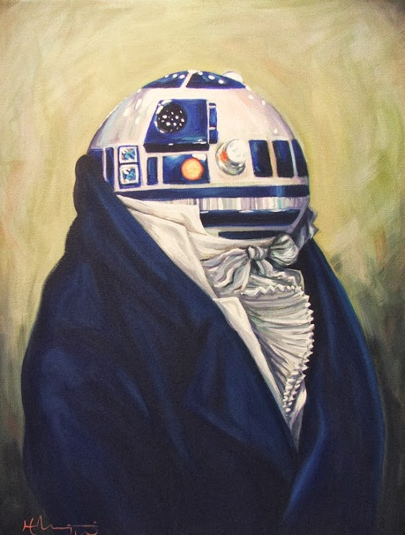 Hillary White - Duke R2-D2