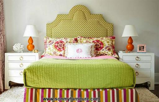 Rộn ràng hoa lá trong phòng ngủ mùa xuân hè_nội thất phòng ngủ-8