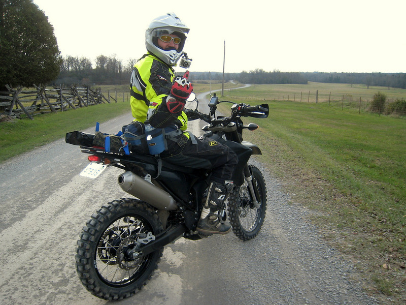 2009 Yamaha WR250X in dirt trim