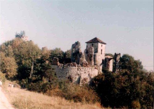 Zamek Tęczynek w Rudnie