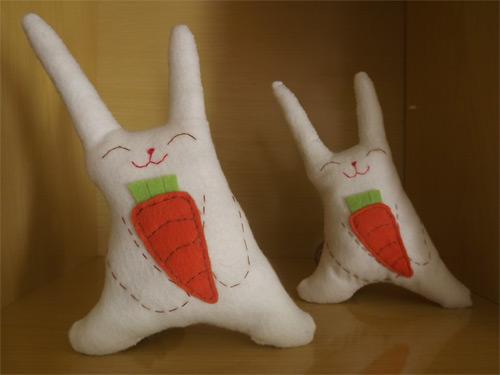 DIY - coelho de feltro