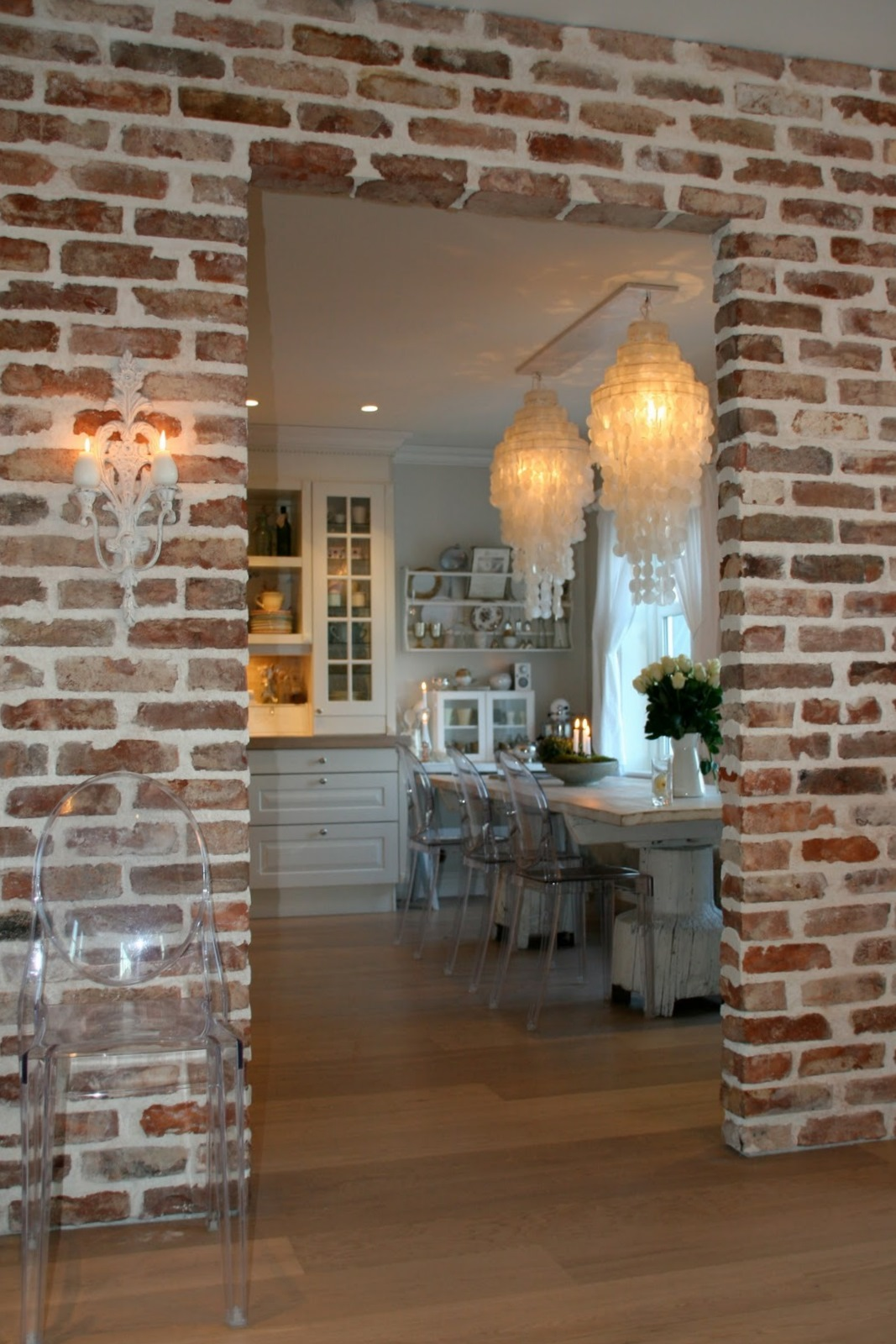 BOISERIE & C.: Shabby Chic Norvegese #986333 1067 1600 Cucine Stile Norvegese