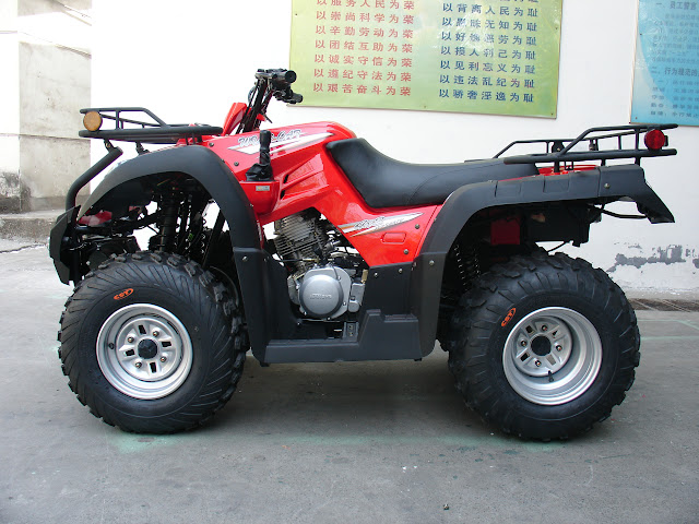 250cc Jianshe JS250 Shaft Drive 2WD Farm Quad Bike ATV