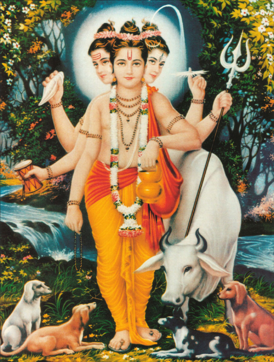 The Birth of Shri Dattatreya - Datta Guru