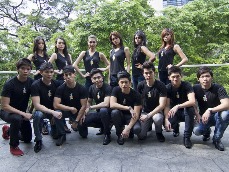 16 Finalists - Asia Model Festival Awards New Face Model Search - Malaysia 2011