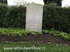 Onbekende soldaat - Royal Air Force gedood op 31 maart 1945.