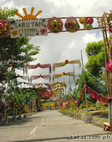 Sabutang Festival at San Luis, Aurora on the way to Ditumabao Falls