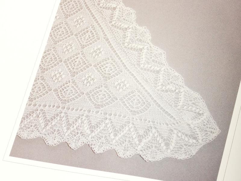 Triangular Haapsalu scarf
