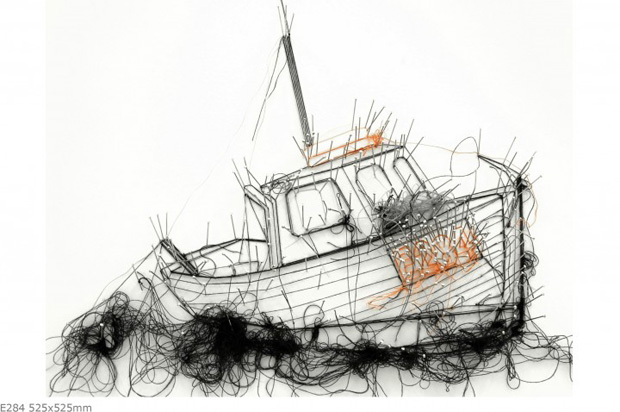 Thread Drawings by Debbie Smyth