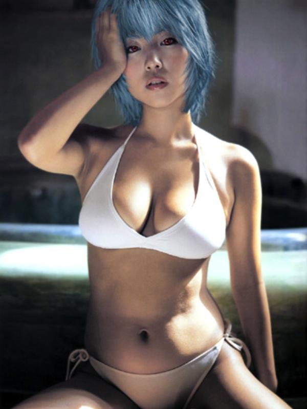 Sexy Asuka  Cosplay. Neon Genesis Evangelion 11