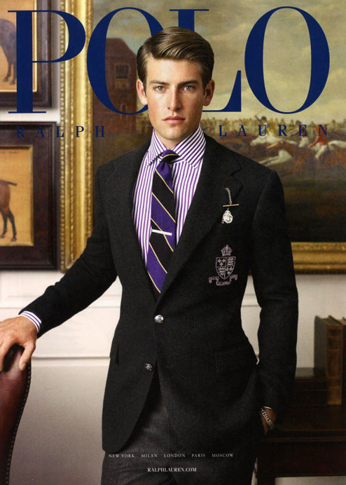 Justin Hopwood @ Soul by Richard Phibbs for Polo Ralph Lauren F/W 2011 campaign