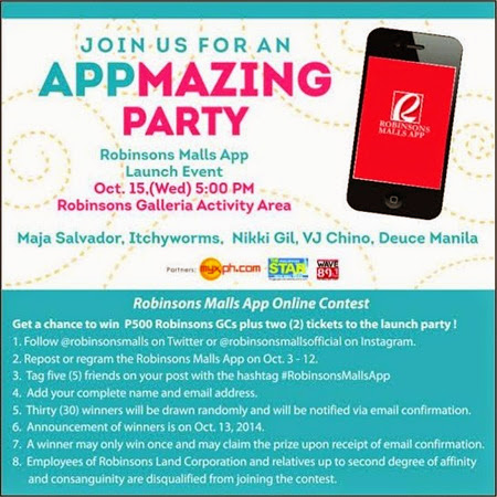 announcement, lifestyle, Robinsons Malls