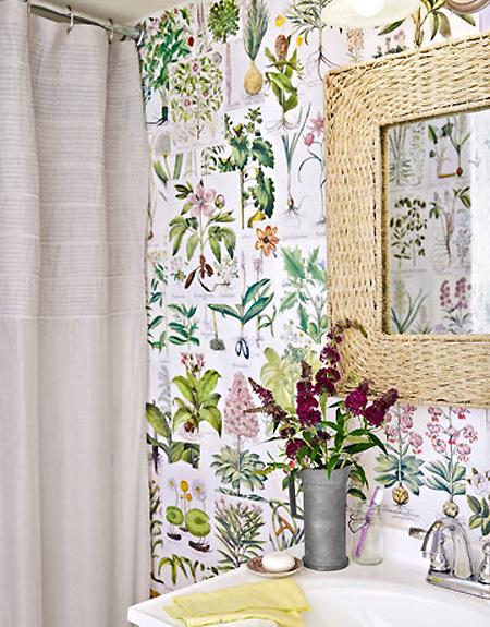 Curtains Ideas botanical shower curtain : Our House: New House Ideas