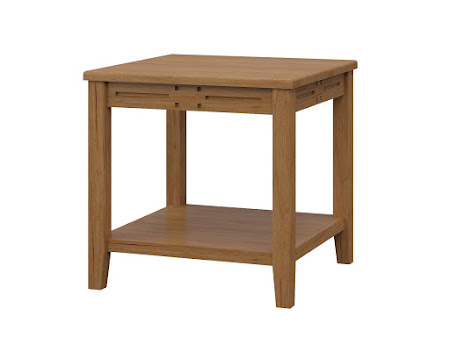 Florence End Table in Calhoun Maple