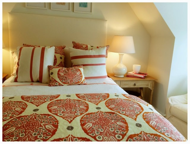 Bright girls bedroom.  2014 Southern Living Idea House in Palmetto Bluff, SC | The Lowcountry Lady