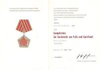 014c Kampforden Für Verdienste um Volk und Vaterland silber www.ddrmedailles.nl