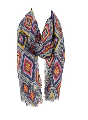 F&F at Tesco Graphic Print Scarf