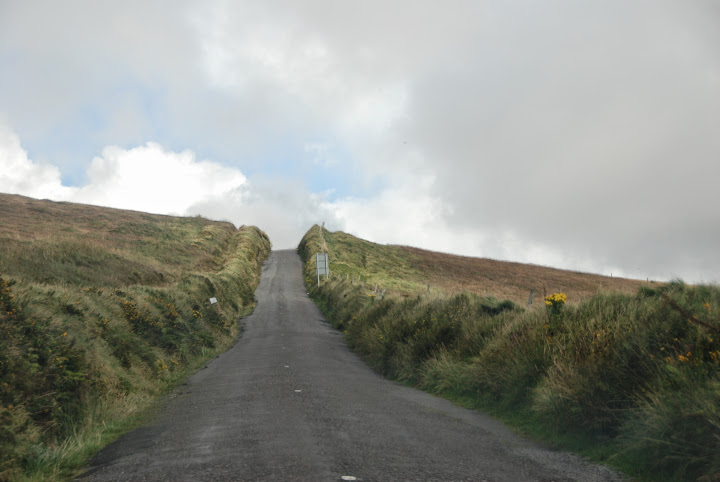 Road, The Glen. Skellig Ring, Ireland