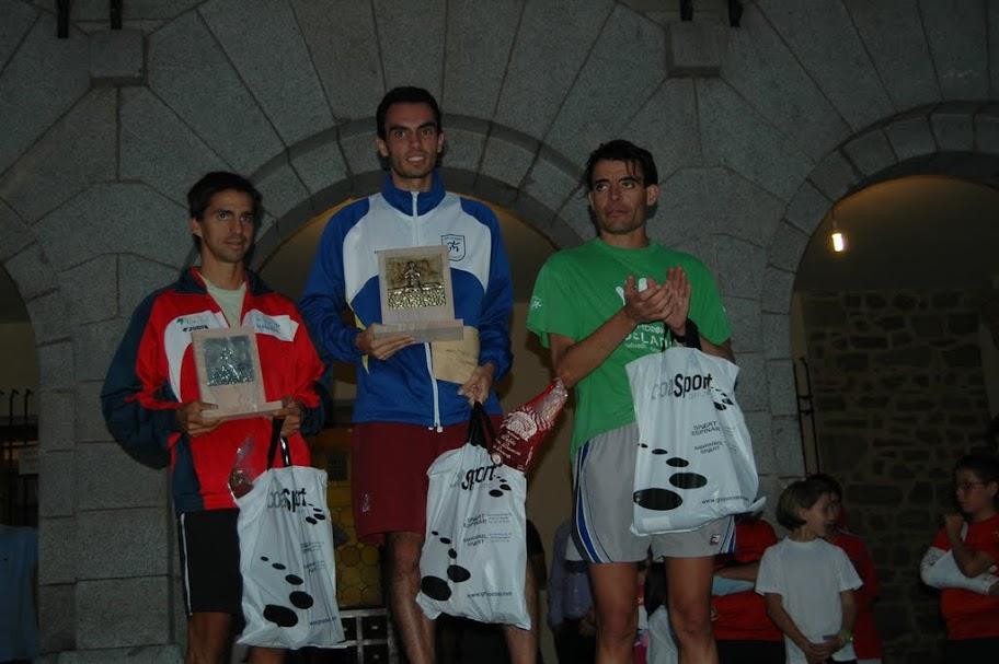 1º Roberto Jimenez, 2º Rodrigo Ares, 3º Jose Felix Ortiz