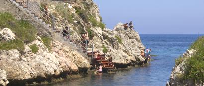 Sizilien - Die Bucht der Ragazzi von Sant'Elia.