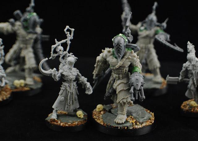 Dark Eldar Grotesque Conversions Grotesques_WIP_3
