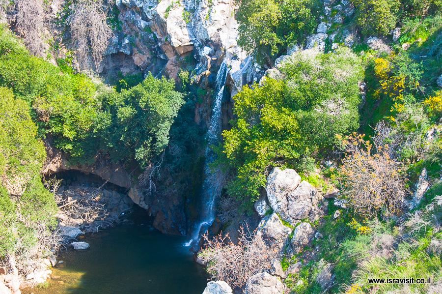 Водопад Саар, Голанские высоты, Израиль