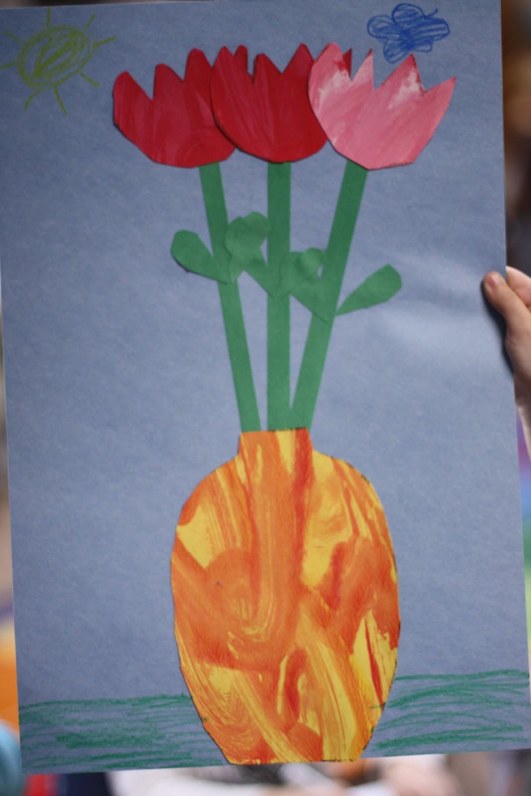 Painted Paper Flowers Fairy Dust Teaching