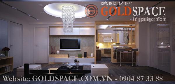 Thiết kế, thi công nội thất căn hộ, chung cư