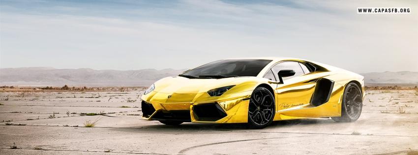 Lamborghini Amarela