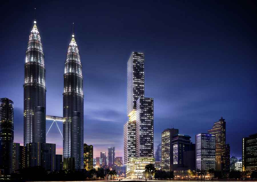 Ole Scheeren to build landmark tower in Kuala Lumpur