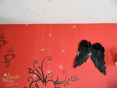 Cómo decorar los techos en Navidad.