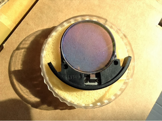 光害濾鏡改內置 (48mm LPS-P2 light pollution filter on rear filter holder/Drop-in)