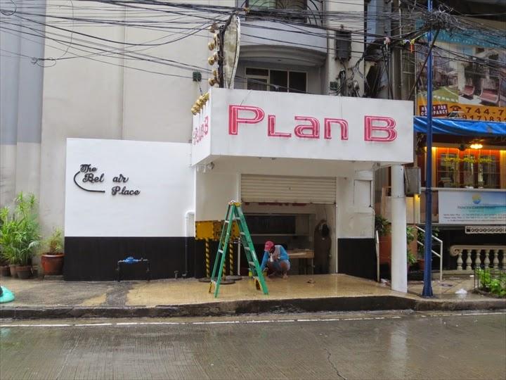 フィリピンのブルゴスのバー Plan B