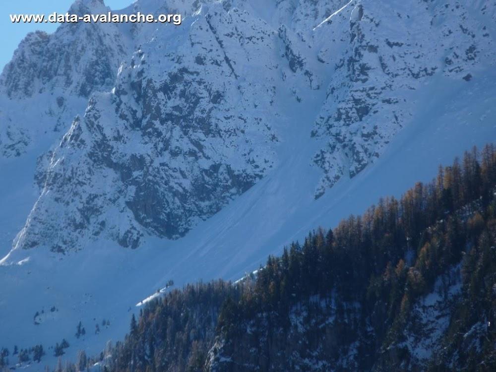 Avalanche Queyras, secteur Pics de la Font Sancte - Photo 1 - © Portier JB