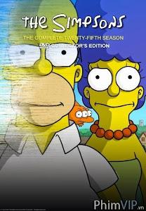 Gia Đình Simpsons - Phần 25 - The Simpsons Season 25 poster