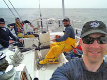 J/46 RIVA crew showing how to get'er done offshore!