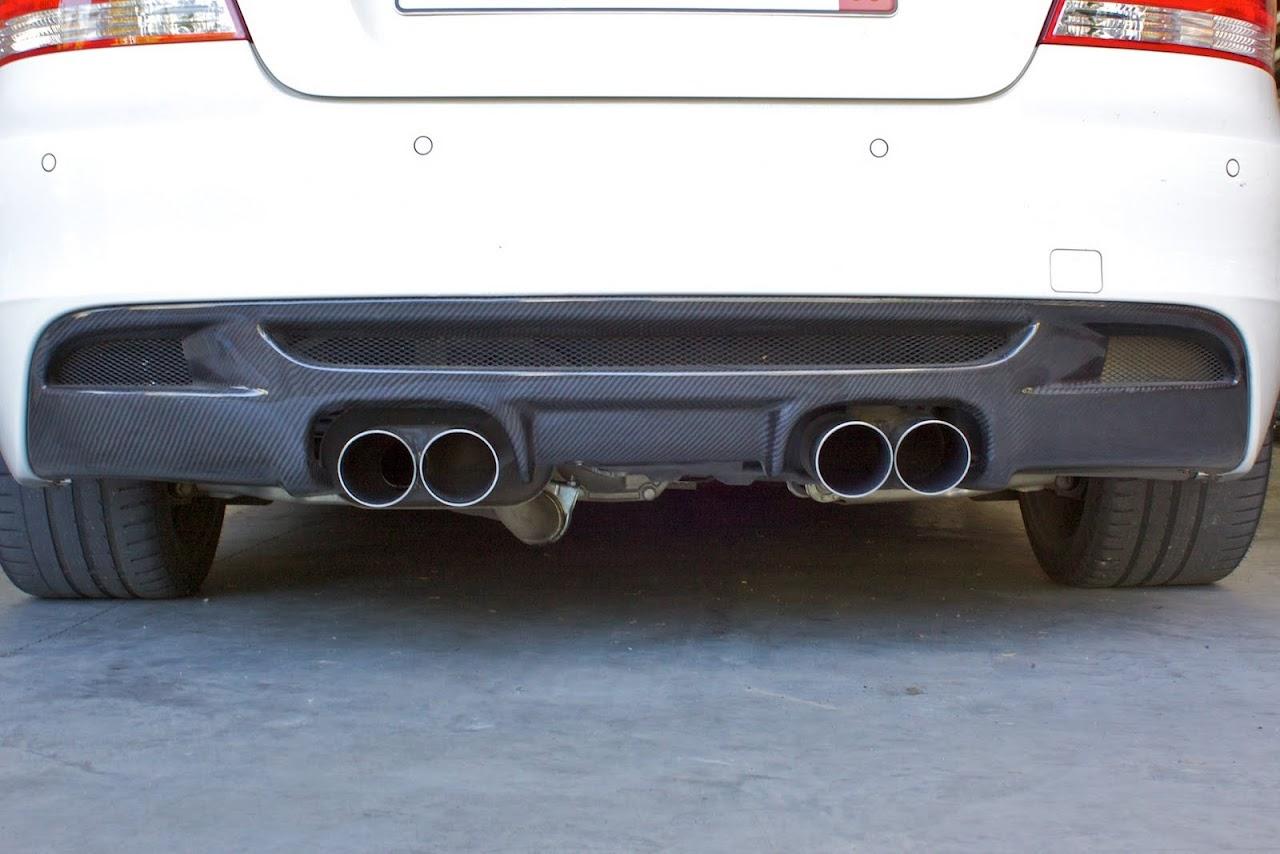 Parting Out 135i Quad Exhaustquad Diffuser Bmw Performance Parts