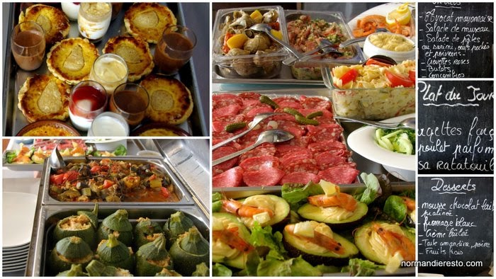 le Buffet � volont� au restaurant La Braise Gourmande au Havre