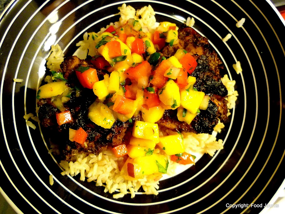 Image of Jamaican Jerk Chicken with Mango Salsa