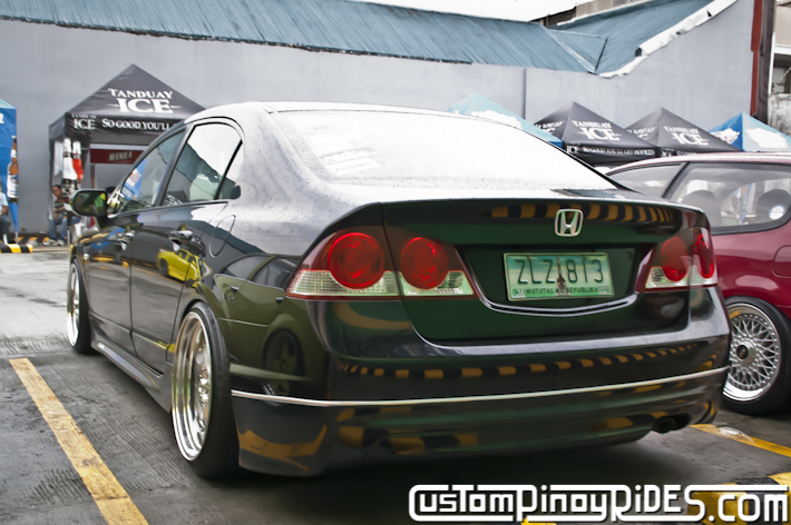 Bruce Montoya Tayao VIP Style Honda Civic FD Car Photography Custom Pinoy Rides pic2