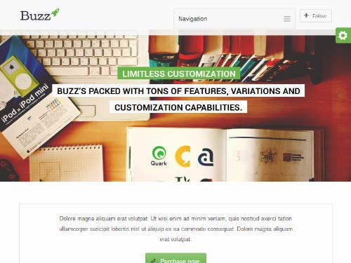 Buzz- Multipurpose WordPress Theme
