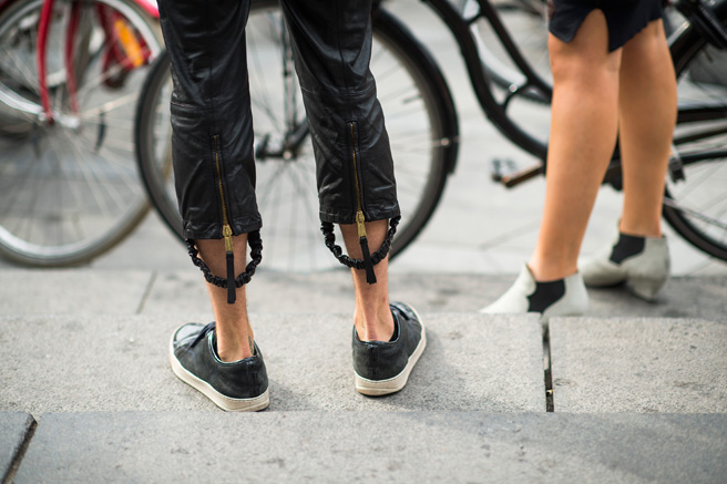 *秀場外的街拍:Copenhagen Fashion week 熱鬧登場! 9